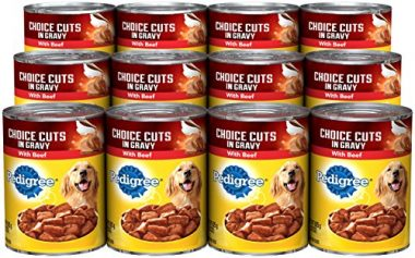 Choice Cuts in Gravy with Beef Adult Wet Dog Food