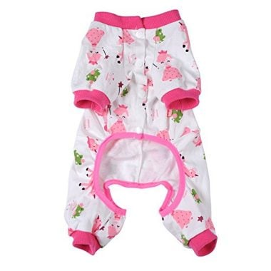 WIDEN Pet Dog Clothes Pajamas Coat Jumpsuit