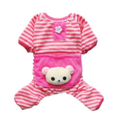 Petparty Cute Bear Comfy Dog Pajamas