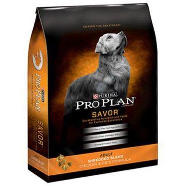 SAVOR Shredded Blend Chicken & Rice Formula Adult Dry Dog Food