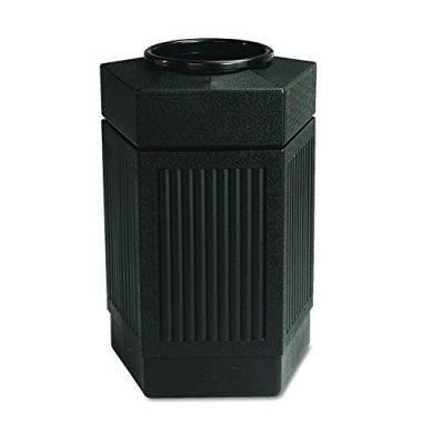 Safco Products 9485BL Canmeleon Indoor/Outdoor Trash Can