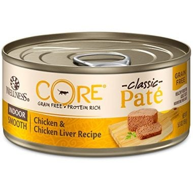 Wellness Core Pâté Indoor Wet Canned Cat Food