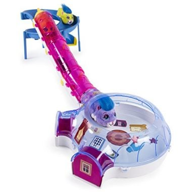 Zhu Zhu Pets –Hamster House Play Set with Slide and Tunnel