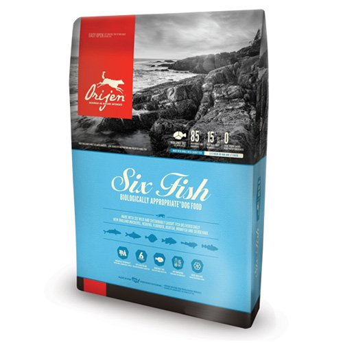 Six Fish Dry Dog Food