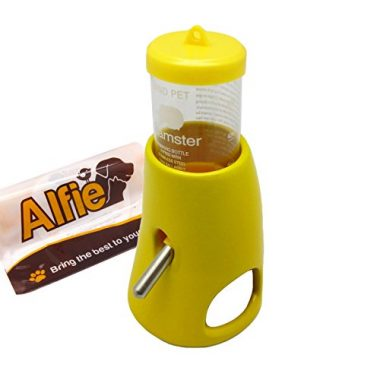 Alfie Pet by Petoga Couture – 2-in-1 Water Bottle with Ceramic Base Hut