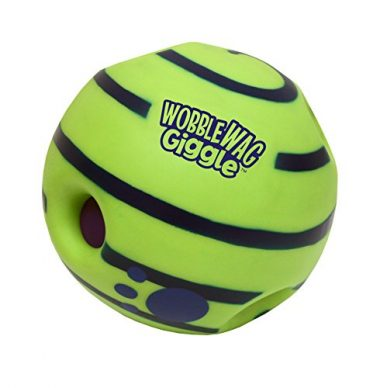 Allstar Innovations Wobble Wag Giggle Ball Dog Toy