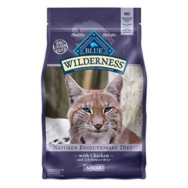 Blue Buffalo Wilderness, High Protein Grain Free Adult Cat Food