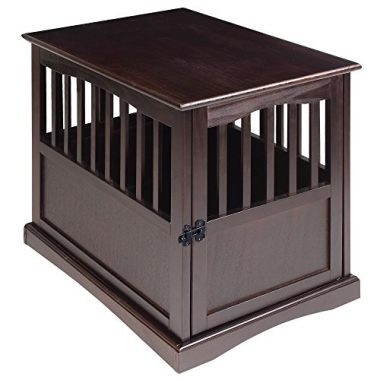 Casual Home Pet Crate Espresso
