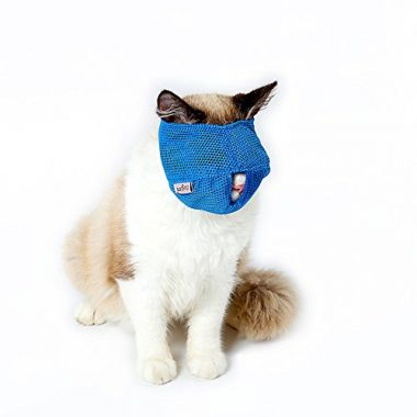 Zoopoir Breathable Mesh Cat Muzzles
