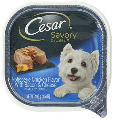 Savory Delights Rotisserie Chicken Flavor with Bacon & Cheese Wet Dog Food