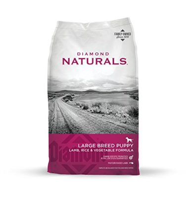Naturals Large Breed Puppy Lamb, Rice & Vegetable Formula by Diamond Pet Foods
