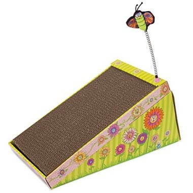 Fat Cat Big Mama's Scratch'n'Play Ramp for Cats with Catnip