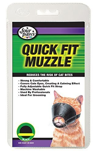 Four Paws Quick Fit Cat Muzzle