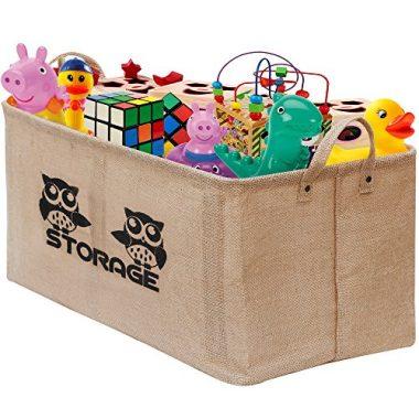 Gimars Easy Carrying Toy Basket