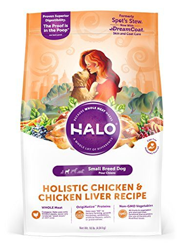 Halo Holistic Natural Dry Dog Food, Small Breeds