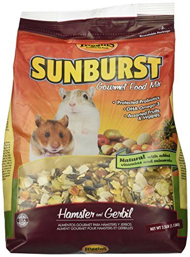 Higgins Sunburst Gourmet Food Mix for Gerbils