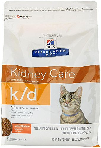 Hill's Prescription Diet k/d Feline Renal Health Dry Food