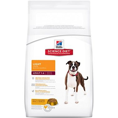 Hill's Science Diet Adult Light Dog Food for Healthy Weight