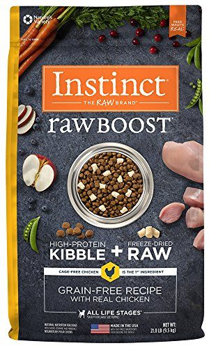 Nature's Variety Instinct Raw Boost Grain Free Natural Dry Dog Food