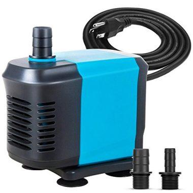 KEDSUM 320GPH Submersible PumpUltra Quiet Water Pump