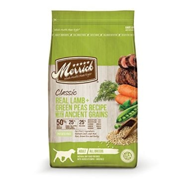 Classic Real Lamb, Brown Rice + Apple Recipe Adult Dry Dog Food by Merrick
