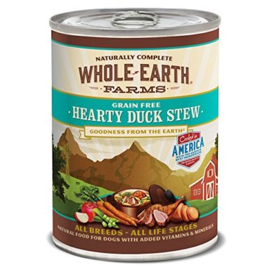 Grain Free Hearty Duck Stew Canned Dog Food