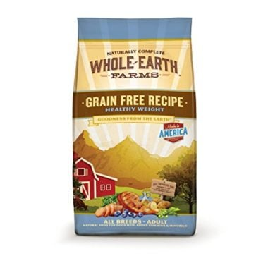 Grain Free Recipe Healthy Weight Formula Dry Dog Food