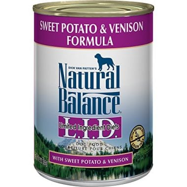 Limited Ingredient Diets Sweet Potato & Venison Formula Canned Dog Food