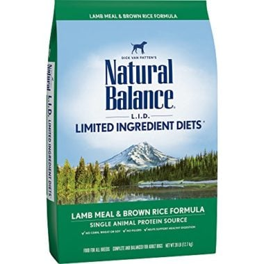 Natural Balance Limited Ingredient Diets Dry Dog Formula