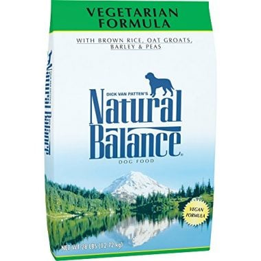 Vegetarian Formula Dry Dog Food