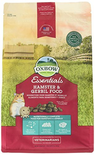 Oxbow Animal Health Gerbil Fortified Food