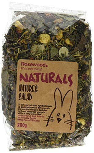 Rosewood Pet 1 Pouch Nature's Salad Food for Gerbils