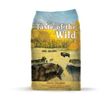 High Prairie Grain Free High Protein Natural Dry Dog Food by Taste of the Wild