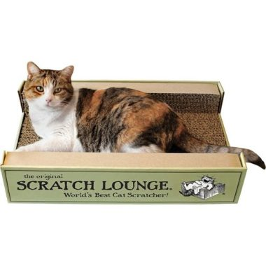 The Original Scratch Lounge with Catnip