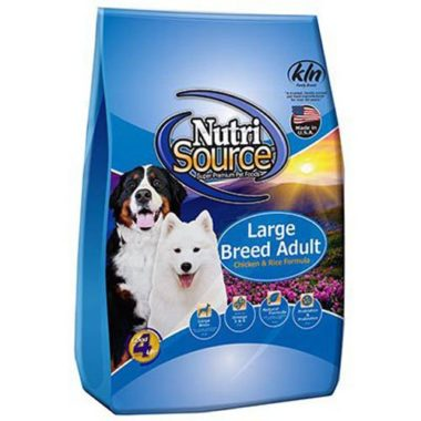 NutriSource Large Breed Adult Dry Dog Food by Tuffy's Pet Food