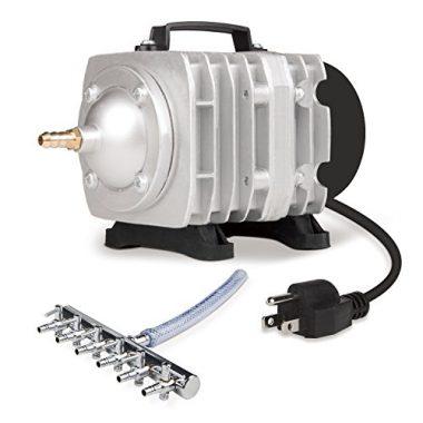VIVOSUN Air Pump 950 GPH 32W 60L/min 6 Outlet Commercial Air Pump