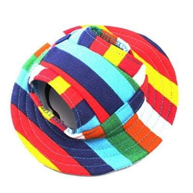WINOMO Round Brim Pet Cap Visor Hat Pet