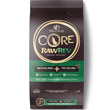 RawRev High Protein Kibble Natural Grain Free Dry Dog Food