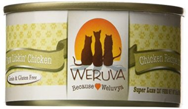 Weruva Paw Lickin' Chicken Grain-free Canned Wet Cat Food