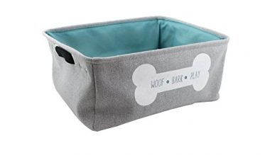 Winifred & Lily Pet Toy and Accessory Storage Bin