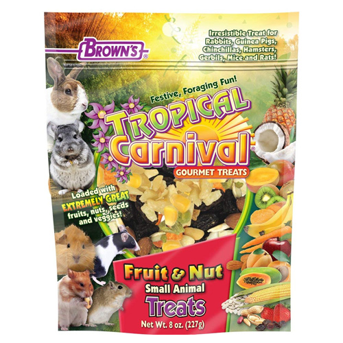 F.M. Brown's Tropical Carnival Fruit & Nut Small Animal Treat