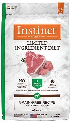 Instinct Limited Ingredient Diet Grain Free Recipe with Real Lamb Dry Dog Food