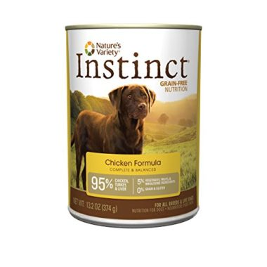 Instinct Chicken Formula Grain Free Nutrition Canned Dog Food