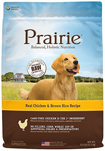 Prairie Real Chicken & Brown Rice Recipe Dry Dog Food