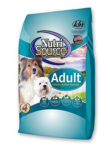 NutriSource Chicken & Rice Dog Food