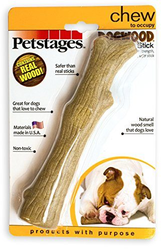Petstages Dogwood Durable Real Wood Dog Chew Toy