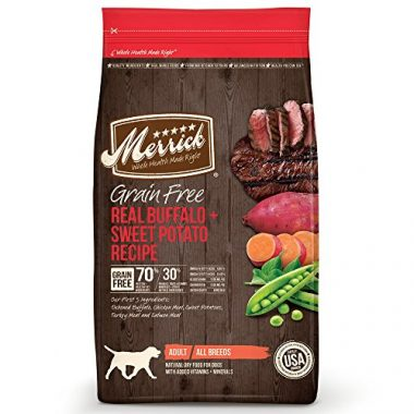 Merrick Dry Dog Food Real Buffalo & Sweet Potato