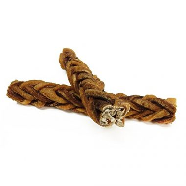PawStruck MONSTER Braided Bully Stick For Dogs