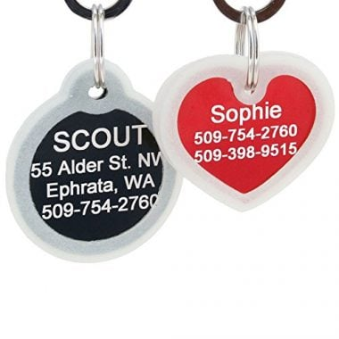 GoTags Personalized Pet ID Tags for Dogs
