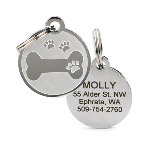 Go Tags Custom Engraved Pet ID Tags